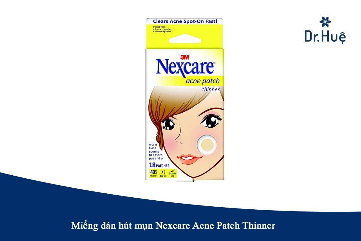 Miếng dán hút mụn Nexcare Acne Patch Thinner