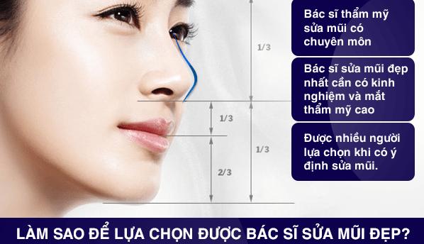 Dr. Huệ bác sĩ nâng mũi sửa mũi đẹp nhất sài gòn - tphcm