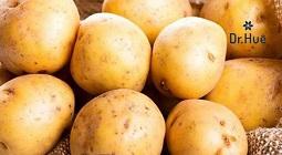 Những cách trị mụn bằng khoai tây đơn giản dễ làm tại nhà