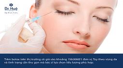 Tiêm Botox thon gọn mặt hàm giá bao nhiêu, ở đâu tốt uy tín tại TPHCM
