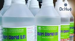 Rửa mặt bằng nước muối sinh lý có tốt không có tác dụng gì?