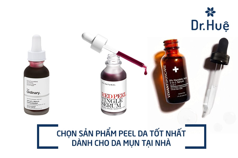 {Top} 10+ Sản phẩm peel da tốt nhất dành cho da mụn tại nhà
