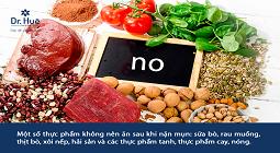 [giải đáp] sau khi nặn mụn không nên ăn gì và nên ăn gì